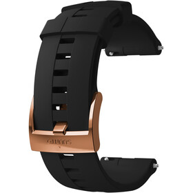 Suunto Athletic 4 Silicone Strap, black/copper